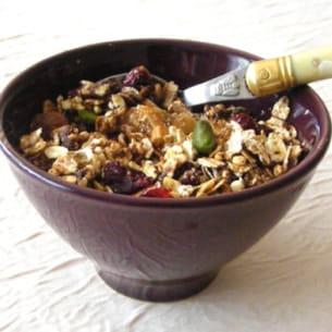 muesli ou granola maison