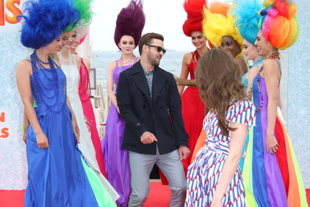 Justin Timberlake fait la danse des trolls
