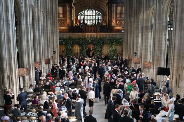 Les invités, en la chapelle Saint-George