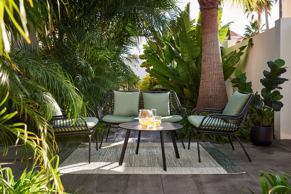 Les plus beaux salons de jardin pour préparer votre été
