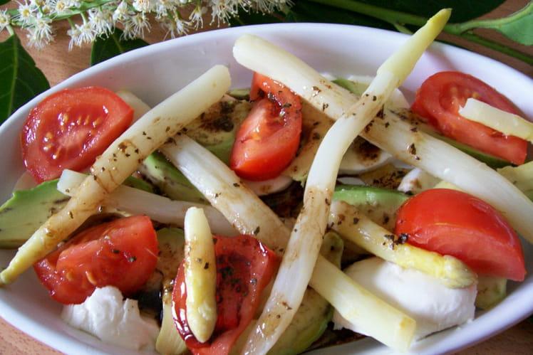 Méli-mélo d'asperges à l'italienne