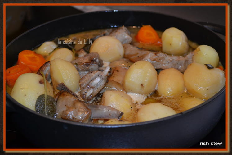 Ragoût d'agneau Irish stew