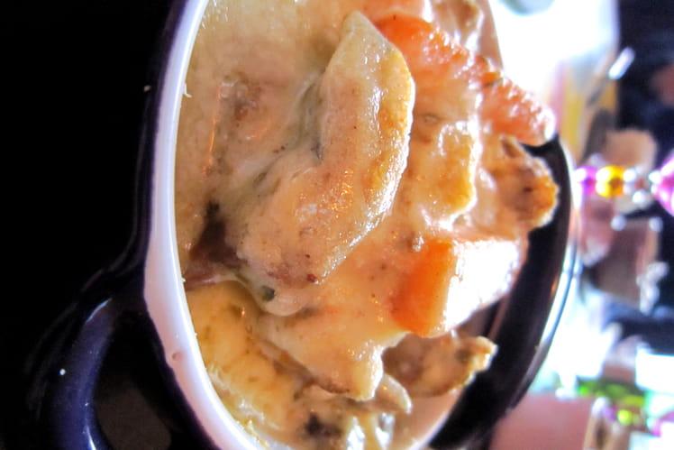 Recette de blanquette de veau en petites cocottes la recette facile - Cuisiner la blanquette de veau ...