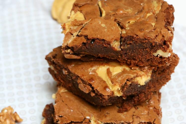 Brownies diaboliques au beurre de cacahuète
