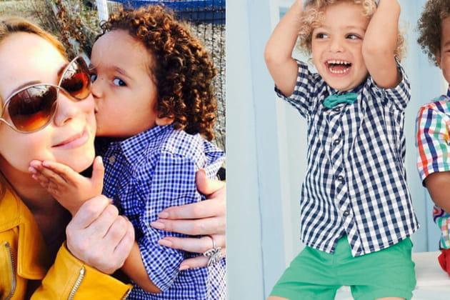 Une chemise à carreaux pour le fils de Mariah Carey