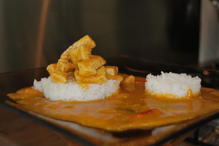 Dindonneau au curry