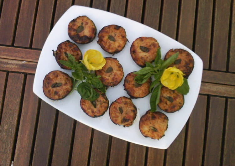 Recette de flans figues tomates basilic la recette facile - Cuisiner des figues fraiches ...