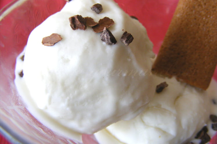 Crème glacée à la noix de coco