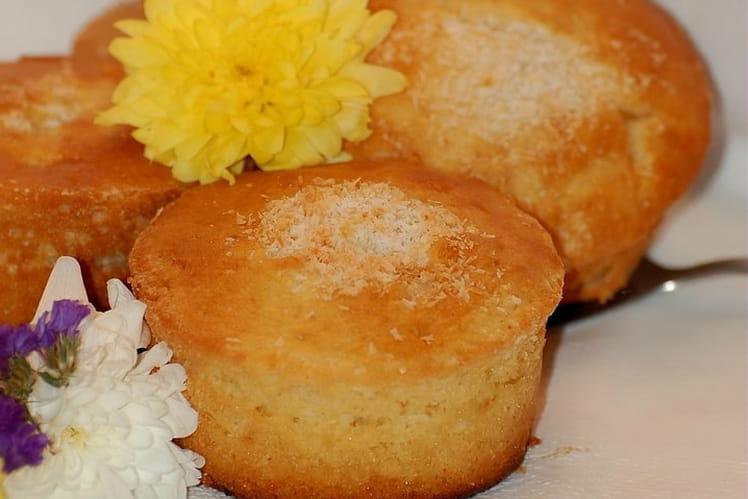 Petits muffins moelleux coco-citron