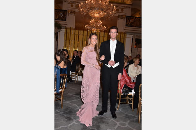 Daniela Figo et son cavalier le prince Gregorio Boncompagni Ludovisi
