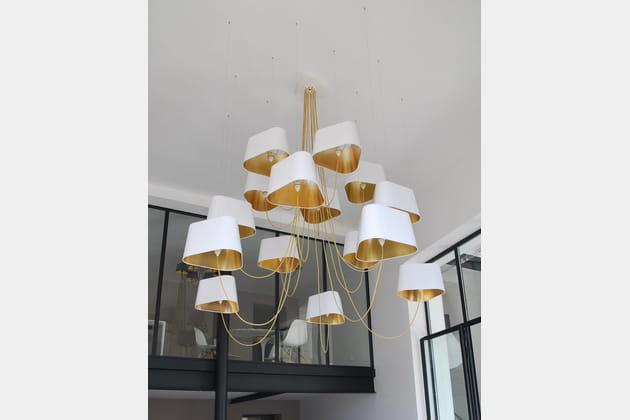 lustre nuage blanc herv langlais. Black Bedroom Furniture Sets. Home Design Ideas