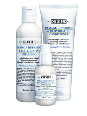 gamme damage repairing & rehydrating de kiehl's.