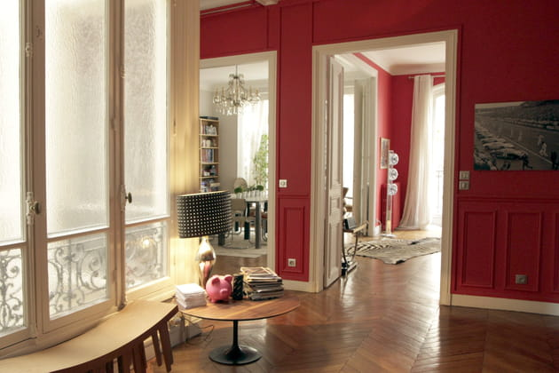 Boiseries de couleurs vives