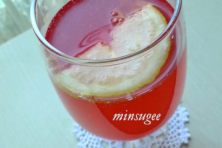Soda aux baies de 5 parfums (anti gueule de bois)