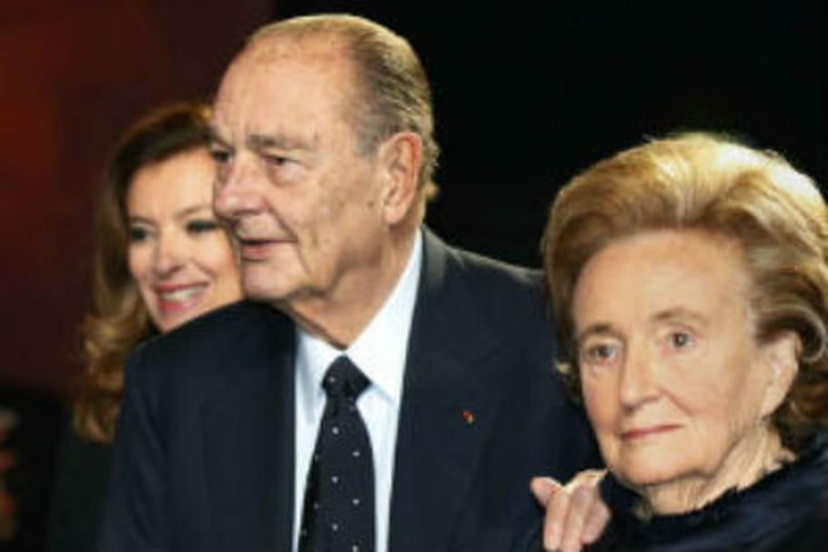 Jacques Chirac va mieux, il donne des coups de canne à Bernadette