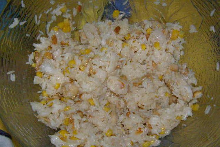 Salade de riz à la chinoise