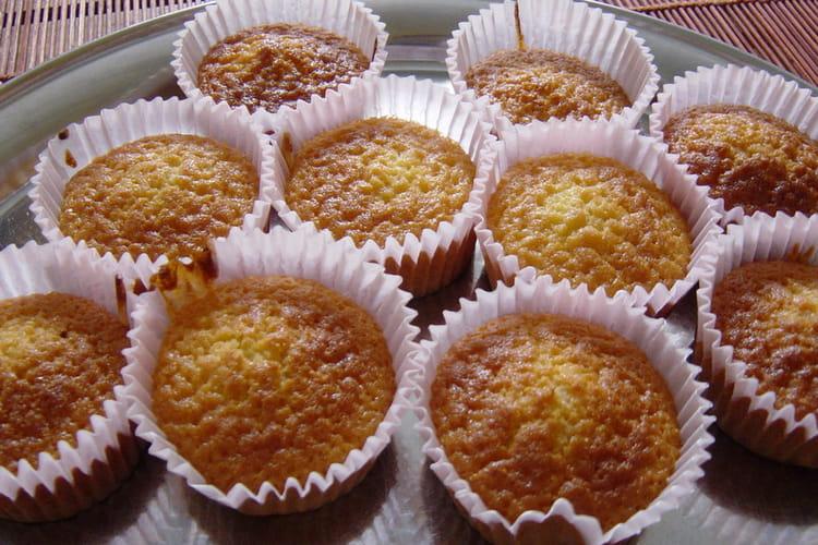 Muffins au miel et noix de muscade