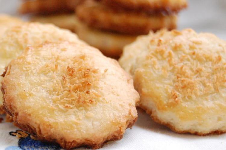 Sablés noix de coco et cannelle