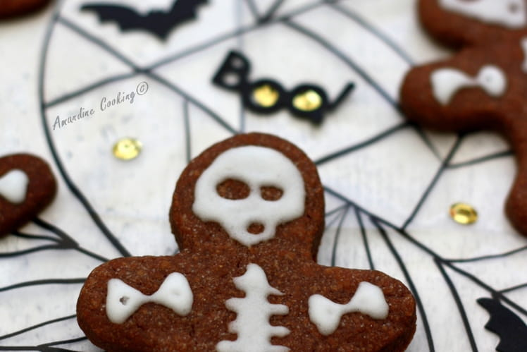 Biscuits au cacao pour Halloween