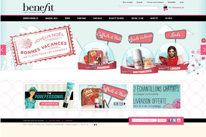 Benefit Cosmetics France lance son site internet