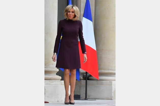 Brigitte Macron le 18novembre 2017