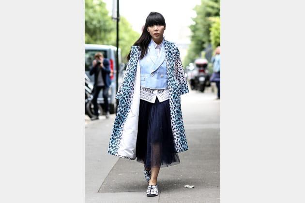 Street looks fashion week haute couture : original