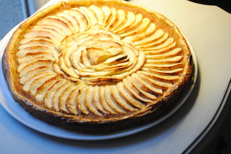 Recette de tarte aux pommes facile et rapide la recette facile - Tarte au citron facile et rapide ...