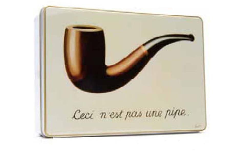 Magritte : guest star des boîtes collector Jules Destrooper