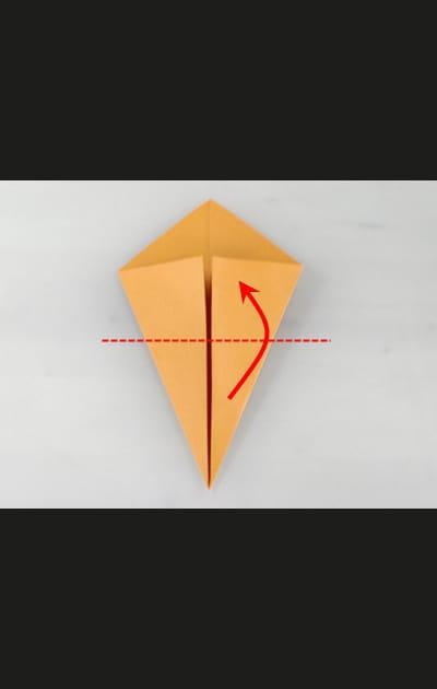 Origami chat - Etape 2