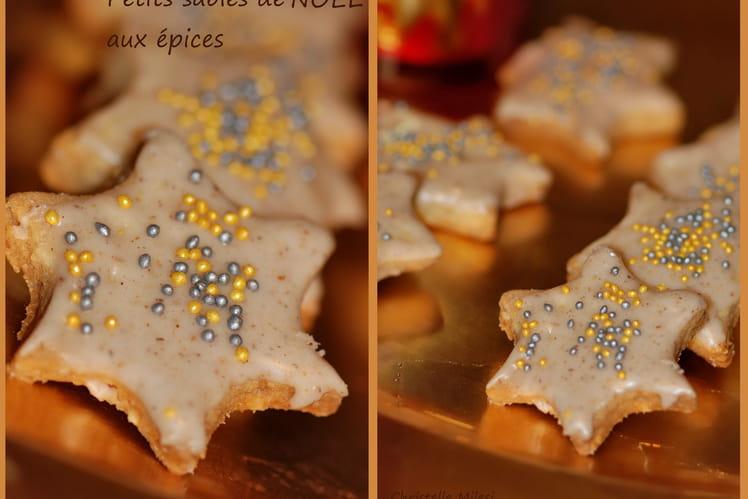 Petits sablés de Noël aux épices