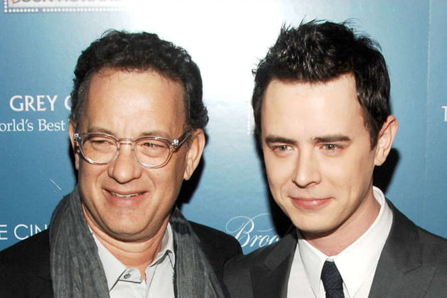Tom Hanks et son fils Colin