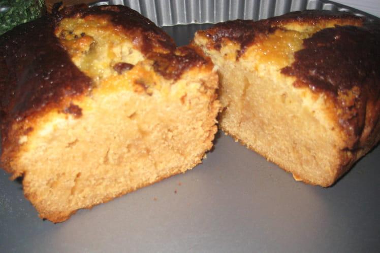 Cake au miel, sirop d'érable et citron