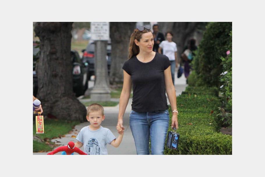 Jennifer Garner et son fils Samuel