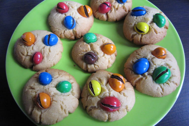 Cookies aux M&M's ultra-gourmands