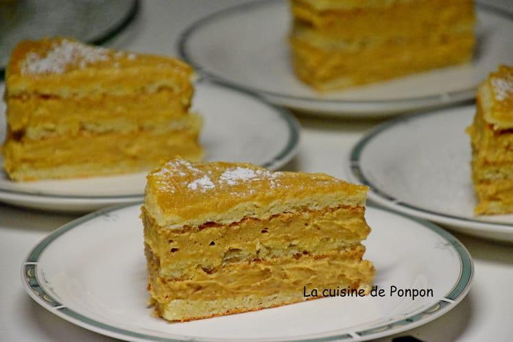 Le carolo: desserts aux amandes, praliné et vanille