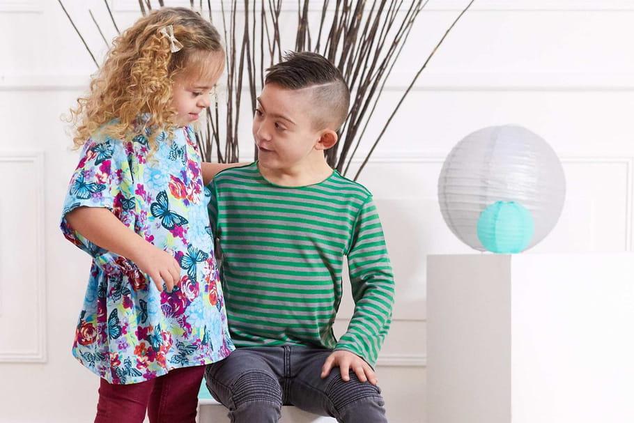 Kiabi lance une ligne de vêtements adaptés aux enfants handicapés