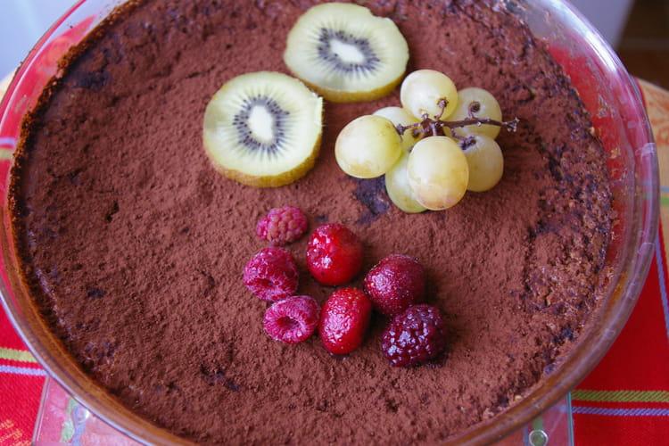 Gâteau de biscuits émiettés à la ricotta