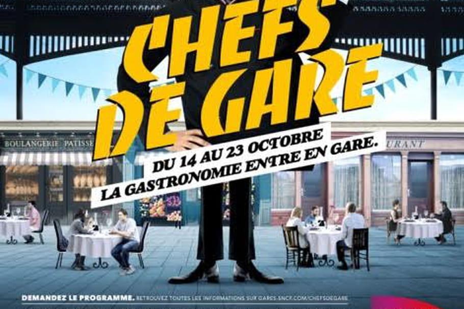 Chefs de Gare : la gastronomie sur les rails