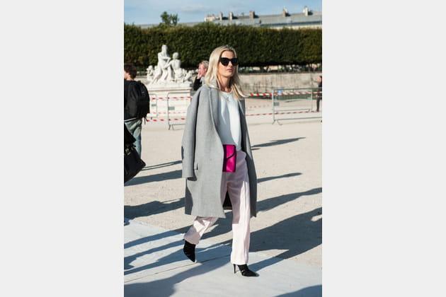 Street looks fashion week Paris: épuré