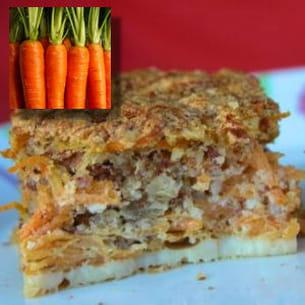 gâteau aux carottes selon trish