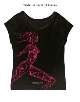 le tee-shirt collector odysséa signé stéphane goddard