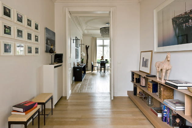Une entrée comme une galerie d'art