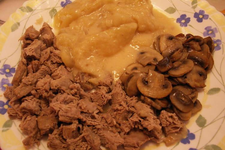Filets mignons de veau à la normande