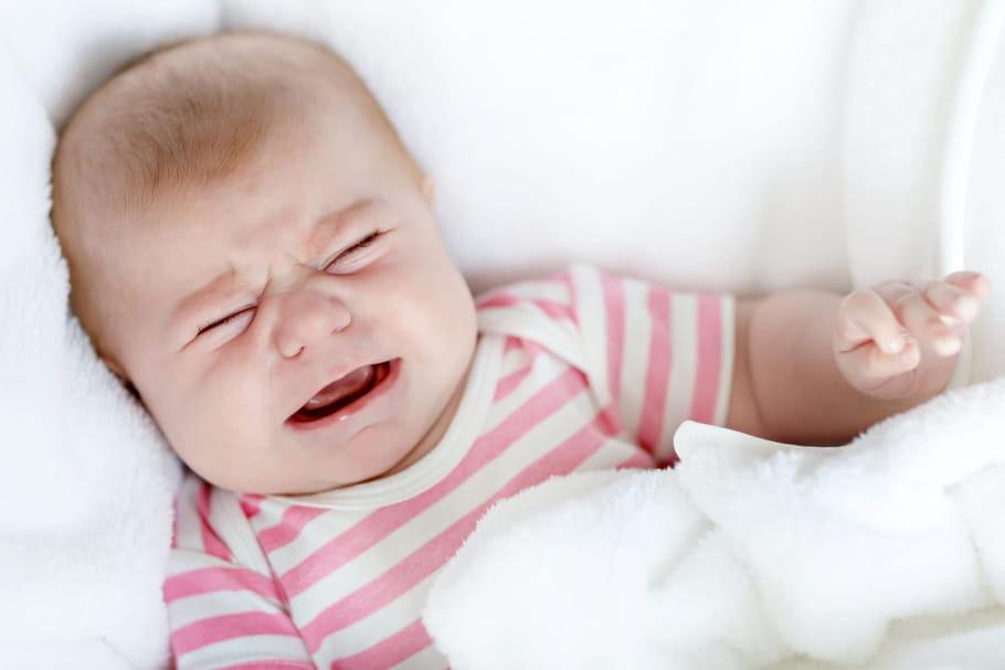 Pleurs de bébé: savez-vous décrypter ses cris?