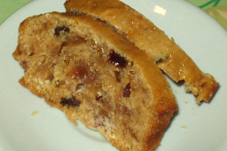 Cake lorrain aux fruits