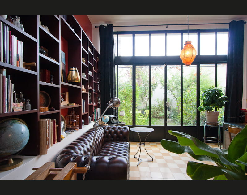 Un salon dans le style anglais