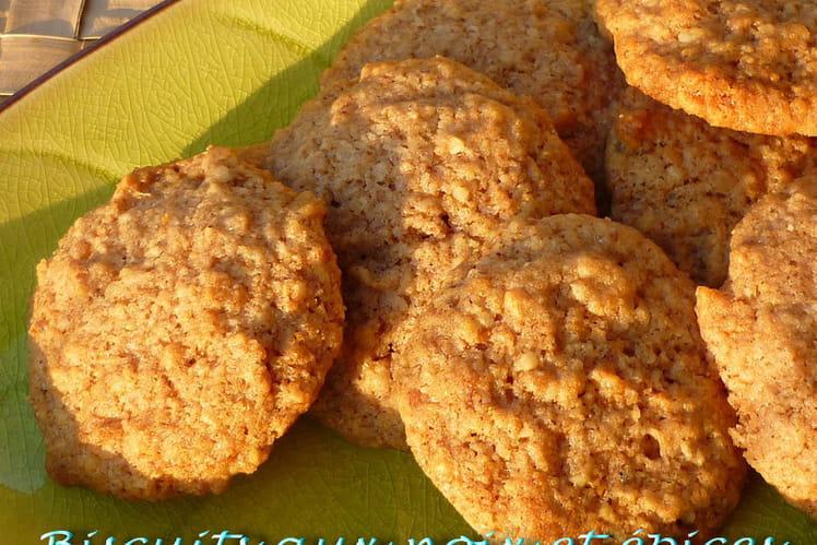 Biscuits aux noix et aux épices