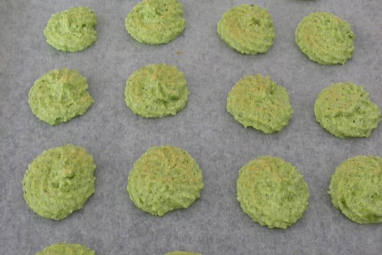 Macarons pistache express