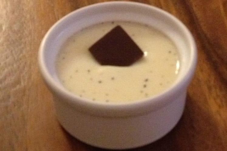 Crèmes à la vanille allégées