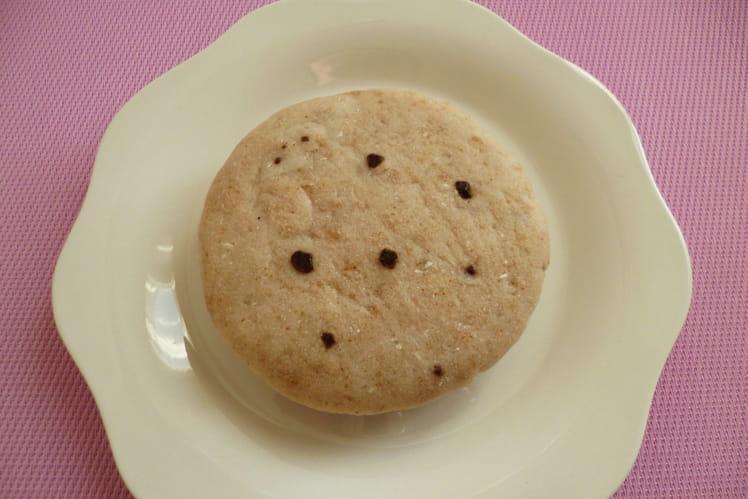 Cookie-cake cru coco chocolat psyllium hyperprotéiné sans gluten